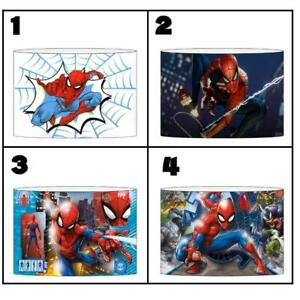 """SPIDERMAN Ceiling Light Shade Lampshade 8""""/20cm in 4 DESIGNS FREE POST"""