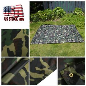 Portable Waterproof Lightweight Camping Tent Tarp Shelter Hammock Rain Fly Cover