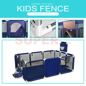 66CM Height Baby Toddler Playpen Safety Exercise Game Fence Activity Center Home