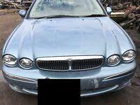 Jaguar X Type V6 Wrecking Engine Transmission Headlight Door Boot Lid Tail light