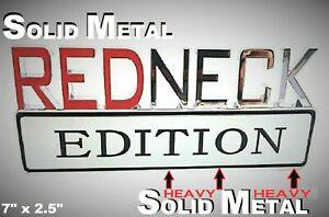 METAL Redneck Edition Truck 3D HIGHEST QUALITY ON EBAY Cadillac Eagle El Dorado