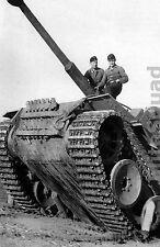 WW2 Photo Picture German Panzer Tiger Panzerkampfwagen VI 351