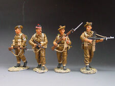 Military Personnel 2-5 King & Country Toy Soldiers
