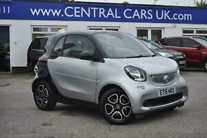 2015 smart fortwo coupe 0.9 PRIME PREMIUM T 2dr Coupe Petrol Manual