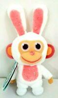 "WONDER PARK Movie Mini Scented Wonder Chimp Clip-On Plush 5"" Bunny Figure"