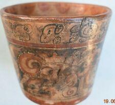 "Sale! Pre Columbian Mayan Crypt Bowl, Glyphs 6"" Prov"
