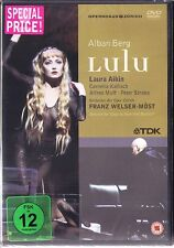 DVD Alban BERG: LULU Laura Aikin FRANZ WELSER-MÖST Kallisch Davislim Oper Zürich