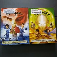 Avatar the Last Airbender Book 1-2, DVDs, English