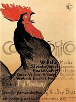 EXHIBITION ART COCKEREL COCORICO PARIS FRANCE POSTER 842PYLV