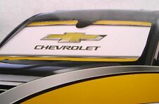 "Universal Chevrolet Windshield Sunshade Folding Cover 58"" x 27.5"""