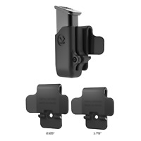 Orpaz for Glock 43X Magazine Pouch, Single Stack Magazine Holster, OWB Belt Clip