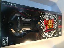 NEW PS3 Guitar Hero Warriors of Rock Wireless Guitar & Game Bundle