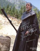 TONY AMENDOLA SIGNED AUTOGRAPHED 8x10 PHOTO BRA'TAC STARGATE SG-1 BECKETT BAS