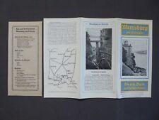 Reise - Faltprospekt Meersburg am Bodensee, von 1928