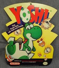 Super POP Display Sign Vintage 1992 - Yoshi - NES 3D Foam Board Double Sided