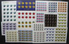 drbobstamps Us Mnh Definitive & Airmail Sheets Postage Collection Face $457