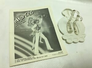 Vintage Andy Gibb Dancin With Stars Stand Paperwork Ideal Toy Dance Figure Toy