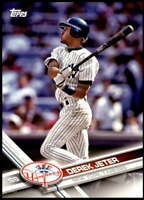 Derek Jeter 2017 Topps Team Sets 5X7 New York Yankees #NYY-1 /99 Yankees