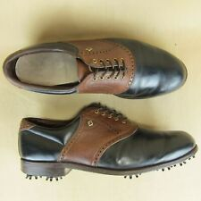 FootJoy FJ Classic Saddle Vintage 51243 Golf Shoes Soft Spike US 11 D Men