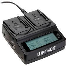 Watson Duo LCD Charger with 2 EN-EL3 / EN-EL3e / NP-150 Battery Plates