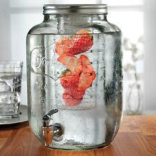 Eddingtons Yorkshire Drinks/Beverage Dispenser 7.5L w/ Ice Tube & Fruit Infuser
