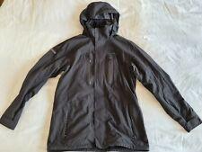 Marmot Giacca Uomo Cappotto Taglia L nero con cappuccio pioggia Giacca Giacca Funzione
