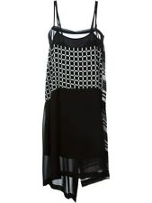 NEW I'M ISOLA MARRAS  LONG DRESS IN OPTICAL PRINT SIZE L  44
