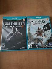 Wii U Game Bundle Call Of Duty Black Ops II & Assassin's Creed IV Black Flag