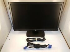 """HP Compaq LE2202x 22"""" LCD Monitor w/Power Cord, VGA Cable, Stand *Scratched*"""