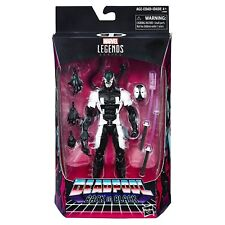HASBRO MARVEL LEGENDS SERIES BLACK IN BLACK 6-INCH DEADPOOL ACTION FIGURE