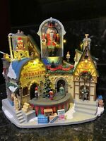 Lemax Christmas Village Ludwig's Wooden Nutcracker Factory New In Box NIB