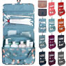 Portable Travel Makeup Cosmetic Bag Toiletry Wash Case Organizer Hanging Pouch