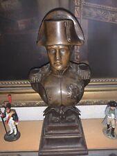 More details for napoleon bronze bust vintage french napoleonic wars militaria