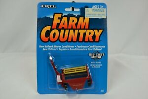 VINTAGE 1994 ERTL FARM COUNTRY NEW HOLLAND MOWER CONDITIONER TOY VEHICLE