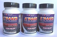 17-HD Vyotech 30 caps Build Muscle, Get Lean FAST X 3 Bottles, Exp. 08/19