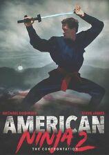 AMERICAN NINJA 2: THE CONFRONTATION - DVD - Region 1 - Sealed
