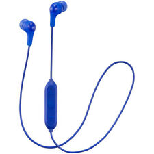 JVC GUMY WIRELESS BLUETOOTH IN EAR HEADPHONES - BLUE