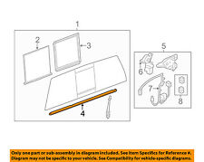 GM OEM Rear Window Glass-Regulator 25980205