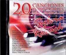 20 CANCIONES INOLVIDABLES DE LA MUSICA DE SYLVIA REXACH - CD