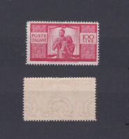 ITALY 1945 Democratica 100L. Mint **  Sc.477 (Sa.565)