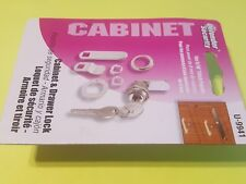 """Defender Security U-9941 Cabinet & Drawer Lock for 5/16"""" thick panels (8mm) New"""