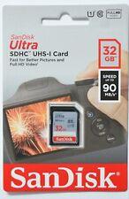 OVP SanDisk 32 GB SDHC SD Speicherkarte Class 10 Ultra UHS 1 für Digital Kamera
