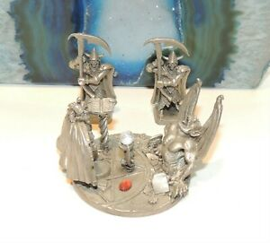 DEMON SUMMONING - Pewter Diorama - Rawcliffe by Tom Meier   Hard to Find!