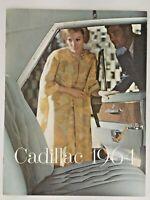 1964 Cadillac Large Prestige sales Brochure Booklet Book Catalog Original Old