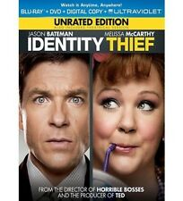 IDENTITY THIEF (Blu-Ray + DVD + Dig. Copy + Ultraviolet) <NEW!> (FREE SHIPPING!)