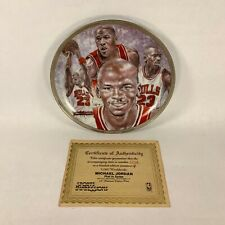 Michael Jordan 1991 Sports Impressions NBA Collectors Plate Limited 1258/5000