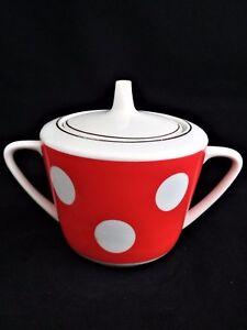 Dovbydsh Sugar bowl Vintage Porcelain 2nd grade USSR Soviet Довбыш CCCP PD270