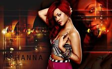 Rihanna Poster Length: 800 mm Height: 500 mm  SKU: 2330