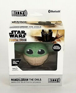 Star Wars Mandalorian The Child Baby Yoda Bitty Boomers Portable Wireless Blueto