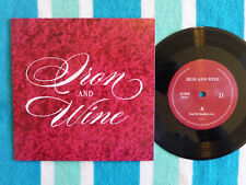 IRON & WINE Next To Paradise 45 rpm w/ PICTURE SLEEVE Nonesuch 2013 RSD